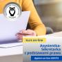 Profesjonalna asystentka-sekretarka z podstawami prawa i obsługą programów biurowych - kurs online