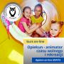 Opiekun dzieci i młodzieży – animator czasu wolnego i rekreacji - kurs online