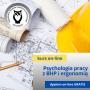Psychologia pracy z podstawami BHP i ergonomii - kurs online